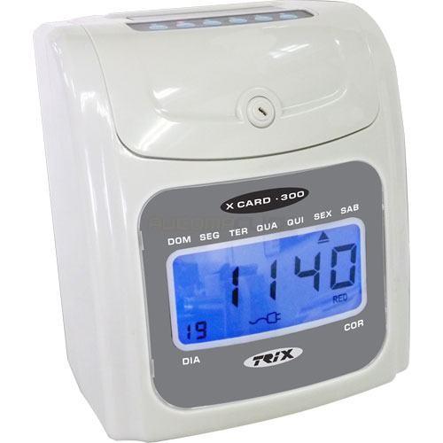 X Card-300 Relógio de Ponto Cartográfico Trix